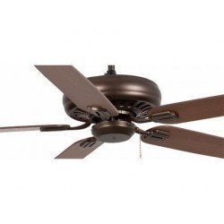 Ventilatore da soffitto, Nisos, 178cm, classico, marrone/legno, Faro.
