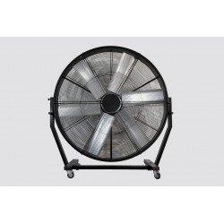 Ventilatore per uso industriale gigante, Big Stortm, 180cm, nero, motore 1,5 Kv, alte prestazioni, Lba Home