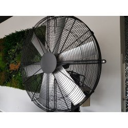 Ventilatore alta velocitá/industriale a parete, Pole Storm, 91cm, potenza di 750W, ideale per 80mq di superficie, Lba Home.