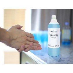 Confezione da 12 bottiglie di Gel idroalcolico da 500 ml, Purline