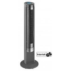 Ventilatore a torre,  Airos Big Pin II SW , nero/antracite, alto 104cm, con telecomando, silenzioso, Casafan.