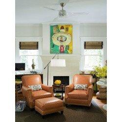 Ventilatore da soffitto, Acryl Art, 127 cm, design, trasparente , con luce, Lba Home.