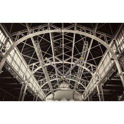 HVLS Ventilatore da soffitto, DC Raptor HVLS RTDC8, industriale, 243 cm , per superfici fino a 140m2, Klassfan