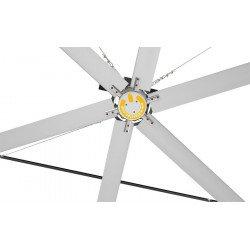 HVLS Ventilatore da soffitto, StatorOM-KQ-6E 220V, industriale, 6,1m, per superfici fino a 1230m2, Klassfan