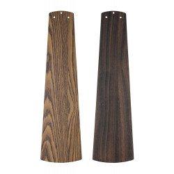Ventilatore da soffitto, Eco Pallas 116 BN-EA/NB, 116 cm, DC, moderno, pale rovere antico/noce, per soffitti bassi, Casafan