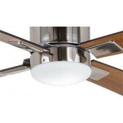 Kit luce,  EN3r BG, grigio basalto,  per ventilatori da soffitto Casafan delle serie: Eco Neo II, Eco Plano, Eco Dynamix.