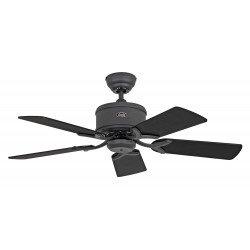 Ventilatore da soffitto, Eco Elements 132 GR, 132cm, DC, moderno, grafite/nero, Casafan.
