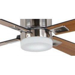 Kit luce,  EN3z BG, grigio basalto,  per ventilatori da soffitto Casafan delle serie: Eco Neo II, Eco Plano, Eco Dynamix.