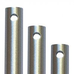Prolunga per asta, 122 cm, alluminio spazzolato, Modern fan.