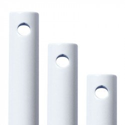Prolunga per asta, 183 cm, bianco lucido, Modern fan.