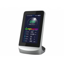 Misuratore della qualità dell'aria, AIRTESTER PLUS WIFI , 8 funzioni,  comando WIFI, Purline.