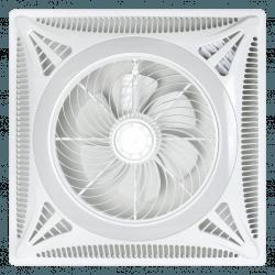 Ventilatore, Ceiling Turbine, placca 60x60 a incasso, ideale per controsoffitto, bianco, motore DC,  Lba Home.