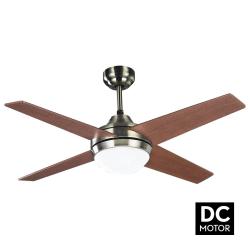 Ventilatore da soffitto, Elysa DC Cherry, DC, 112cm,  pale double-face...