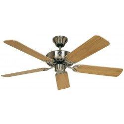 Ventilatore da soffitto, Classic Royal BN, 132cm, cromo/ faggio, Casafan.
