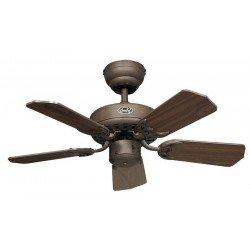 Ventilatore da soffitto, Classic Royal 75 BA, 75cm, Marrone antico/ noce/ noce scuro, Casafan