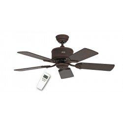 Ventilatore a soffitto 103 Cm, DC, Eco Elements BA Marrone anticato, lame di faggio / noce.