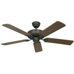 Ventilatore da soffitto, Classic Royal BA,  132cm, marrone antico/ noce/ noce scuro, Casafan