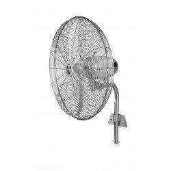 Ventilatore da parete oscillante industriale,  WM2 Wall Eco, 70cm, 123 W max, alte prestazioni, oscillazione 80°, Casafan.