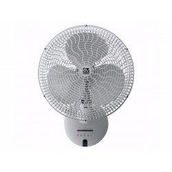 Ventilatore da parete,  Gordon, 30cm, con telecomando, regolabile in orizzontale e verticale, Vortice.