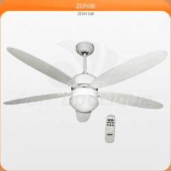 Ventilatore da soffitto, Zephir, 132 cm, con luce ,telecomando,moderno.