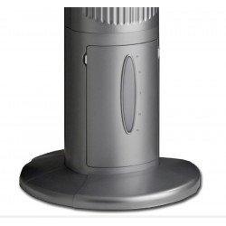 Ventilatore a torre,  Airos Big Pin II WE, bianco, alto 104cm, con telecomando, uso domestico e commerciale, Casafan.