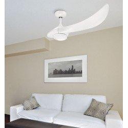 Ventilatore da soffitto, E-celfan, 105cm, DC, design, abs, con luce e telecomando, mono pala, Lba Home.