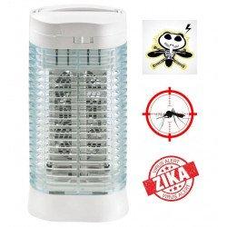 Lampada insetticida con luce UV, Z112, fino a 10mq, funzione turbo,ultra efficace, Orieme.