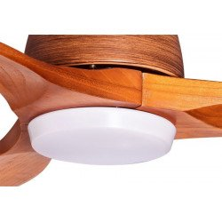 Ventilatore da soffitto, Moveriq, 132 cm, moderno, legno massiccio, con lice, iper silenzioso,Lba Home.