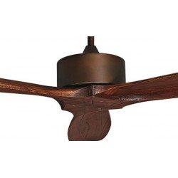Ventilatore da soffitto, Hegoa, 132cm, DC, pale in legno massiccio,  Purline by Klass Fan.