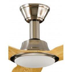 Ventilatore da soffitto, So Net, 142 cm, moderno, pale legno di acero, con luce, DC, Lba Home