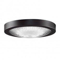 Kit luce, Spitfire DZ, LED, bronzo scuro, vetro zigrinato, per la serie Spitfire, Fanimation.