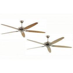 Ventilatore da soffitto, Classic Royal BN A/B, 180cm, cromo/ acero/ faggio , Casafan