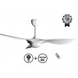 Ventilatore da soffitto, Helix, 132cm, DC bianco, con luce, limited-series, Klass Fan.