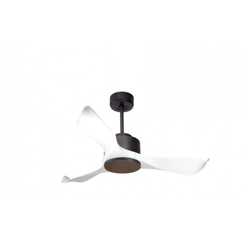 Ventilatore da soffitto, Modulo, 106cm, bianco/grafite, DC, iper silenzioso, super destratificatore, Klassfan