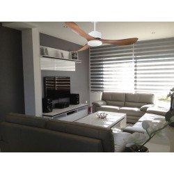 Ventilatore da soffitto, super destratificatore, 132cm, DC, iper silenzioso, con termostato, moderno, Klassfan