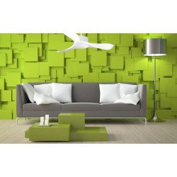 Ventilatore da soffitto, Modulo, 106 cm,  DC, bianco, super destratificatore, termostato/wifi klassfan.