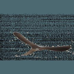 Set pale, P3, 132cm, per ventilatori della serie Modulo, nero, Klassfan