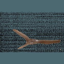 Set pale, P4, 127cm, per ventilatori della serie Modulo, legno/marrone, Klassfan