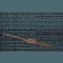 Un Set con 2 pale, P4, 127cm, per ventilatori della serie Modulo, legno/marrone, Klassfan.