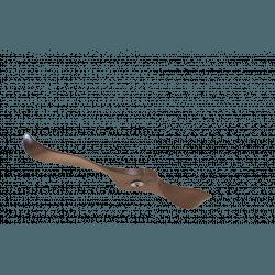 Un Set con 2 pale, P2, 132cm, per ventilatori della serie Modulo, legno/marrone, Klassfan
