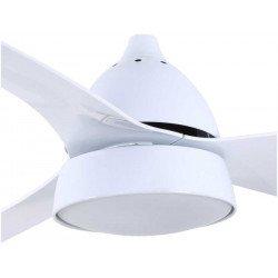 Ventilatore da soffitto, Bell Blanc, 132cm, con luce, bianco, Lba Home
