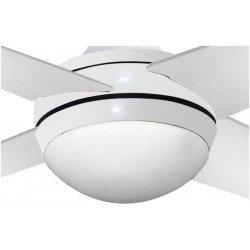 Ventilatore da soffitto, Elysa blanco, 112cm, bianco, con luce, Lba Home