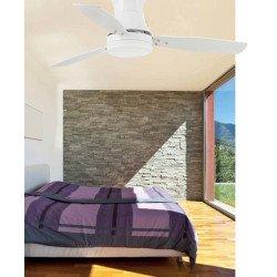 Ventilatore da soffitto, Tonsoy, 107cm, bianco, moderno, con luce, Lba Home