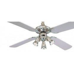 Ventilatore da soffitto, Princess Euro, 105 cm, pale nere o grigie/ peltro, con luce, Westinghouse.