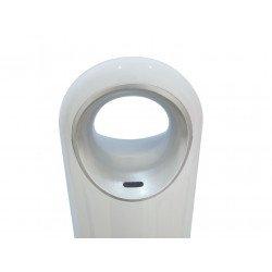 Umidificatore ad ultrasuoni, HYDRO 12,  igrostato, design moderno, bianco, Purline.