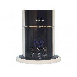 Umidificatore ad ultrasuoni/ ionizzatore, HYDRO 13,  igrostato, design moderno, nero, Purline