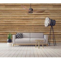 Ventilatore da soffitto/destratificatore, Modulo, 132cm, DC, con termostato, ideale per camere da letto, Klassfan.