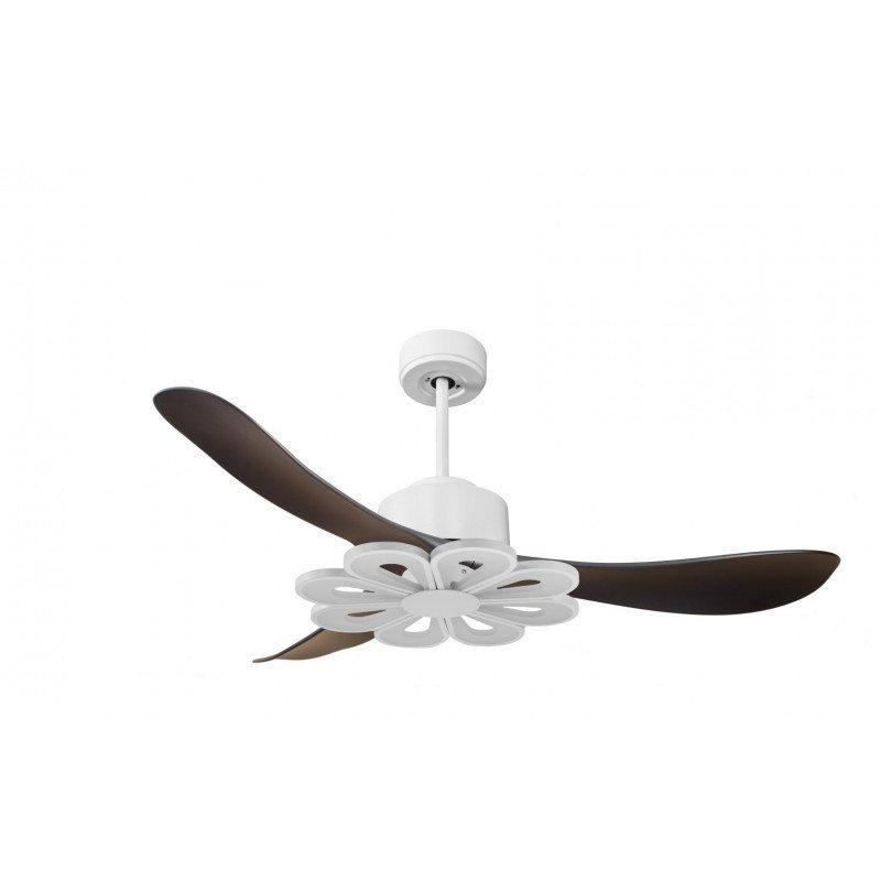 Ventilatore da soffitto, super destratificatore, Modulo, 132cm, iper silenzioso, con termostato, wifi, con luce, klassfan