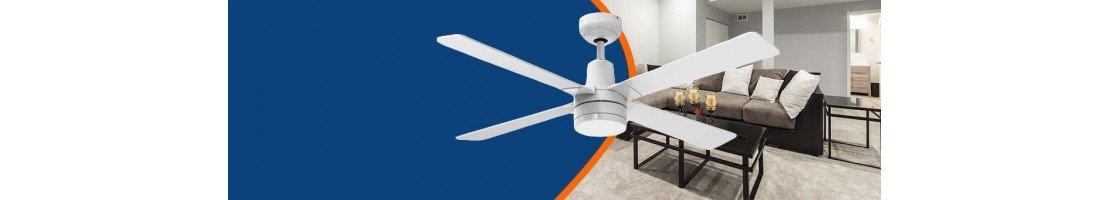 La nostra categoria di ventilatori da soffitto con  luce.