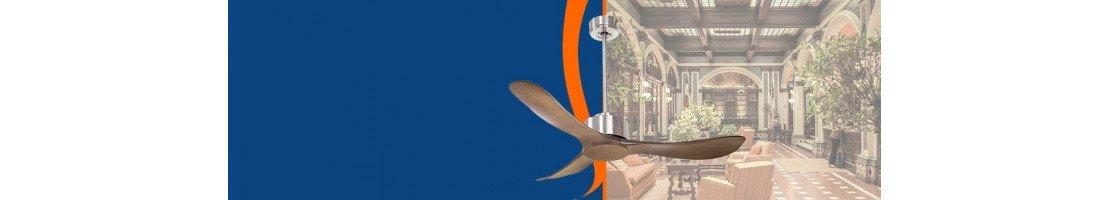 Ventilatori da soffitto per settore turistico-alberghiero- Fanboutique
